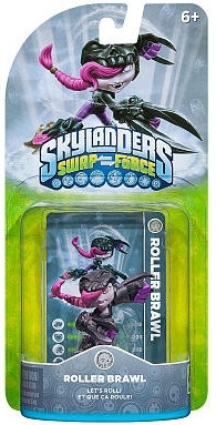 Figurka Skylanders Swap Force - ROLLER BRAWL (PS3, Xbox 360, WiiU, Wii, 3DS)